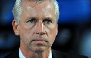 Pardew: Missing the old codgers in midfield?