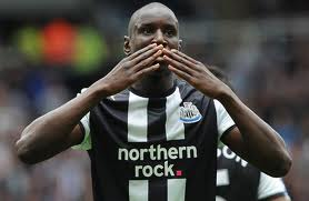 Demba Ba in contention for Newcastle's game against Spurs on Sunday.