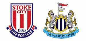 Stoke City vs Newcastle United.