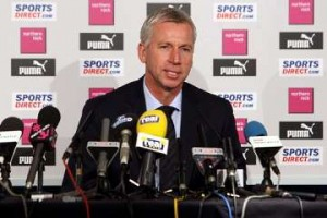 Pardew: Fans can still have some traditions.