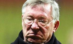 Manchester United manager, Sir Alex Ferguson.