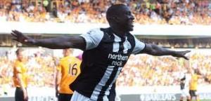 Demba Ba remains upbeat despite City defeat.