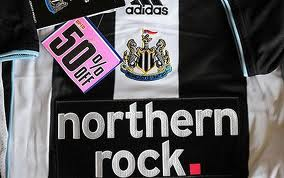 Northern Rock pull out of Toon shirt sponsorship.