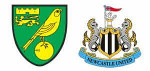 Norwich City vs Newcastle United.