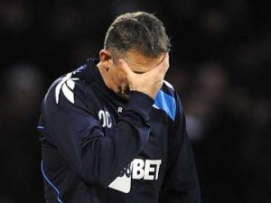 Boton Wanderers manager, Owen Coyle.