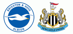 Brighton v Newcastle United in the FA Cup.