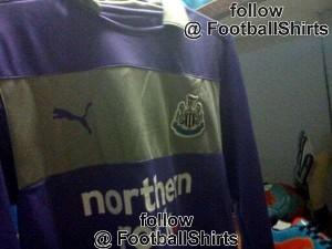 Newcastle United goalkeeper shirt 2 - 2012-13.