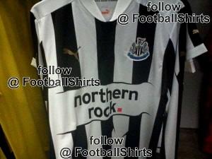 Newcastle United home shirt 2011-12.