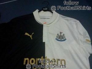 Newcastle Unted away shirt 2012-13.