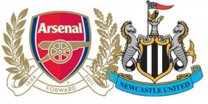 Arsenal v Newcastle United.