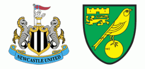 Newcastle United v Norwich City.