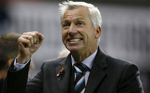 Pardew lays out his 3 year plan for Newcastle United.
