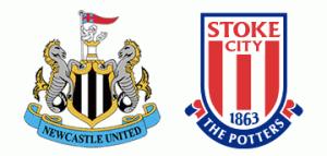 Newcastle United v Stoke City.