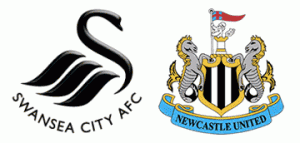 Swansea City v Newcastle United.