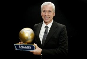 Alan Pardew - Premiership Manager of the Season.