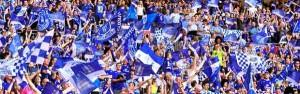 Everton fans.