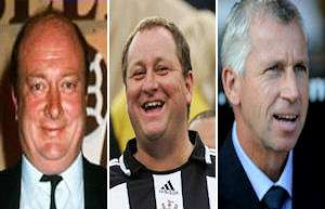 Carr, Ashley and Pardew.