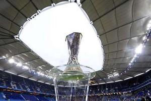 Europa League trophy.