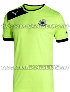 Newcastle United 2012/13 change shirt.