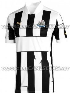 Newcastle United 2012/13 home shirt.