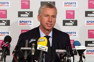 Alan Pardew Press Conference.