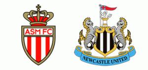 A.S. Monaco v Newcastle United.