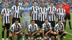 NUFC / Newcastle United new home kits 2012/13.