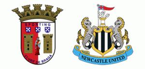 Newcastle United v S.C. Braga.