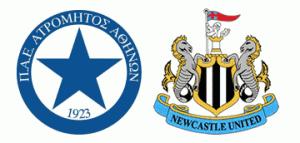 Atromitos v Newcastle United.