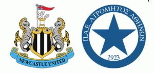Newcastle United v FC Atromitos.