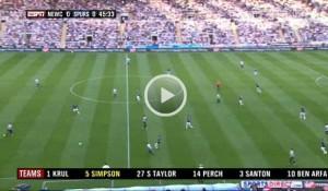 Newcastle United v Tottenham full match video (opens in new window).
