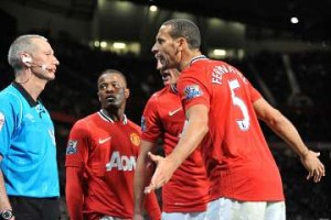 Newcastle United v Manchester United.