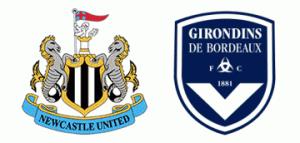Newcastle United v Bordeaux.