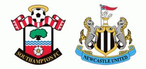 Southampton v Newcastle United.
