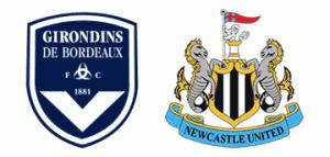 Europa Leagie Group D - Bordeaux v Newcastle United.