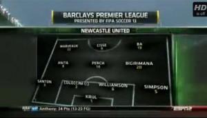 Manchester United v Newcastle United full match video 2012-13.