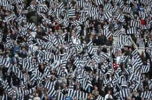 NUFC fans.