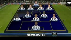 Newcastle United v Everton full match video.