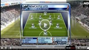 Newcastle United v Southampton full match video.