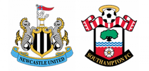 Newcastle United v Southampton.