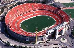 Benfica's old Estadio da Luz.