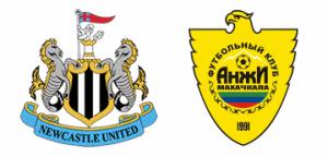 Newcastle United v Anzhi Makhachkala.