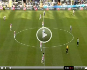 Newcastle United v Stoke City full match video.