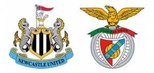 Newcastle United v Benfica.