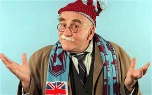 Alf Garnett West Ham.