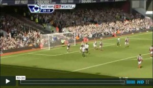 West Ham v Newcastle United full match video.