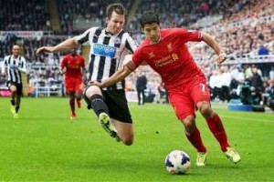 Mike Williamson vs Liverpool.