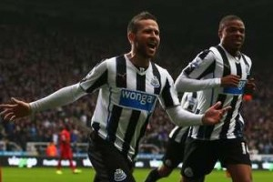 Yohan Cabaye vs Liverpool.
