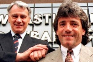 Bobby Robson and Kevin Keegan