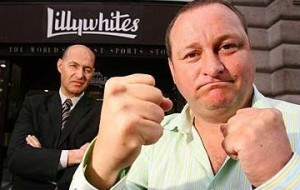 Mike Ashley boxing